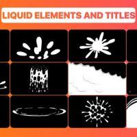VIDEOHIVE CARTOON SPLASH FX AND TITLES | AFTER EFFECTS