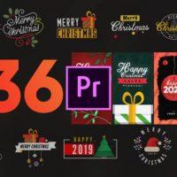 VIDEOHIVE CHRISTMAS ELEMENTS PACK-MOGRT – PREMIERE PRO