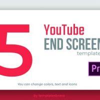 VIDEOHIVE YOUTUBE END SCREENS – PREMIERE PRO