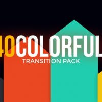 VIDEOHIVE MODERN COLORFUL TRANSITIONS PACK – PREMIERE PRO