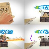 VIDEOHIVE OUR HOLIDAY MODULAR LOGO REVEAL
