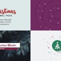 VIDEOHIVE CHRISTMAS MINIMAL PACK