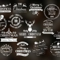 VIDEOHIVE TWENTY CHRISTMAS BADGES