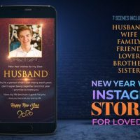 VIDEOHIVE NEW YEAR WISHES FOR LOVED ONES_INSTAGRAM PREMIERE – PRO