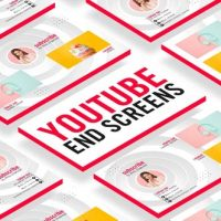 VIDEOHIVE YOUTUBE END SCREENS