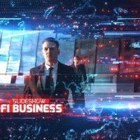 VIDEOHIVE SCI-FI BUSINESS SLIDESHOW