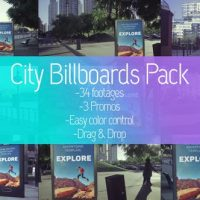 VIDEOHIVE BILLBOARDS CITY MOCKUP PACK