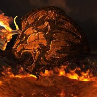 VIDEOHIVE HELL FIRE LOGO